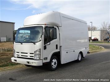 2011 Isuzu NPR Diesel Cab Over Supreme 12 Foot Work Box Van