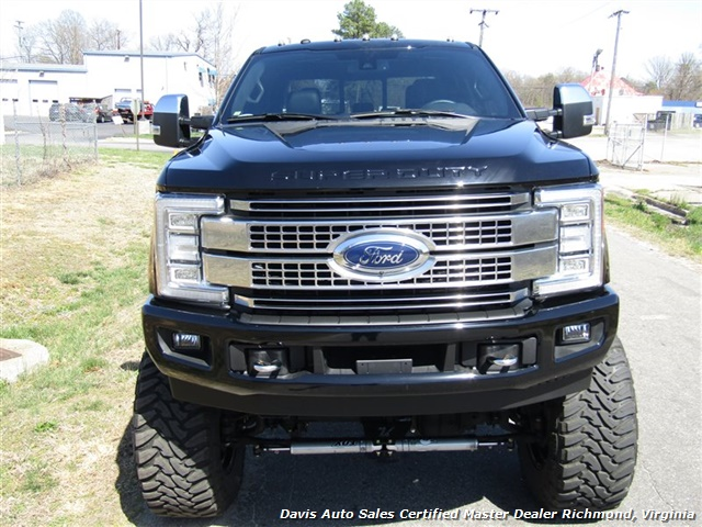 2017 Ford F-350 Super Duty Platinum 6.7 Diesel Lifted 4X4 Air Ride - Photo 57 - Richmond, VA 23237