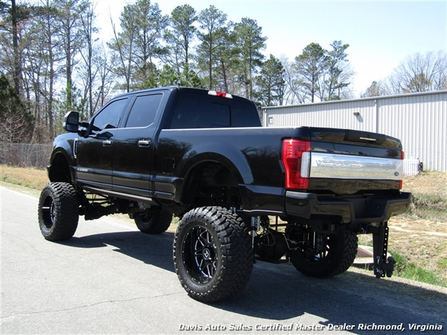 2017 Ford F-350 Super Duty Platinum 6.7 Diesel Lifted 4X4 Air Ride - Photo 3 - Richmond, VA 23237