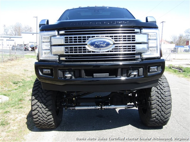 2017 Ford F-350 Super Duty Platinum 6.7 Diesel Lifted 4X4 Air Ride - Photo 14 - Richmond, VA 23237