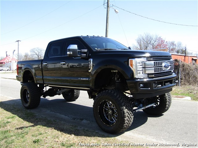 2017 Ford F-350 Super Duty Platinum 6.7 Diesel Lifted 4X4 Air Ride - Photo 13 - Richmond, VA 23237