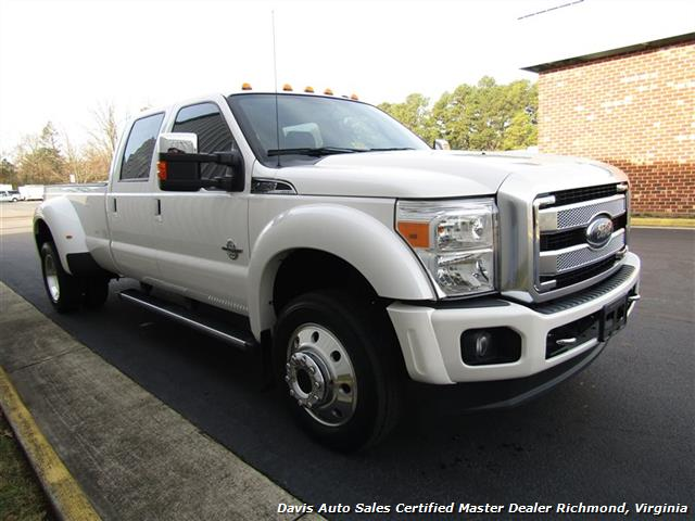 2015 ford f 450 super duty platinum pearl white diesel 4x4. Black Bedroom Furniture Sets. Home Design Ideas