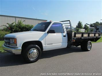 2000 Chevrolet Silverado C/K3500 LS Regular Cab Flat Bed Dually Commerical Work Truck