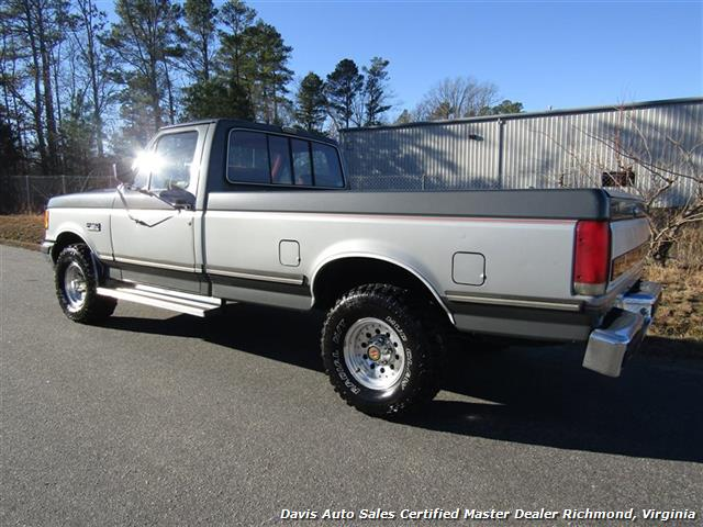 1991 Ford F 150 Xlt Lariat 4x4 Rust Free Regular Cab Long Bed