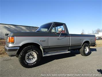 1991 Ford F-150 XLT Lariat 4X4 Rust Free Regular Cab Long Bed Truck