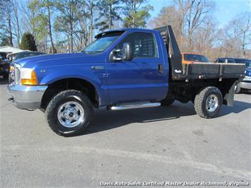 2000 Ford F-250 Super Duty XL 4X4 Flat Bed Truck