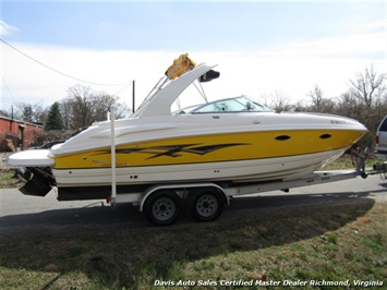 2004 Chaparral 265 SOS 26 Foot SSI FGB Cuddy Cabin Cruiser Performance Boat - Photo 12 - Richmond, VA 23237