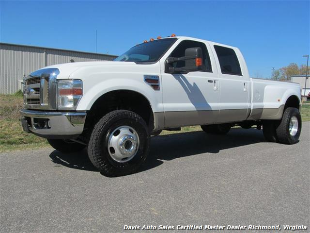 2008 ford f 350 super duty lariat king ranch 4x4 crew cab long bed. Black Bedroom Furniture Sets. Home Design Ideas