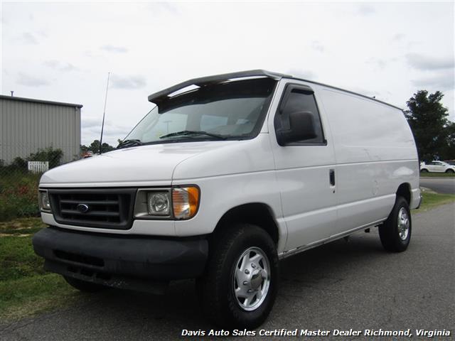2003 Ford E-Series Van E-250 Econoline Commercial Work - Photo 1 - Richmond, VA 23237