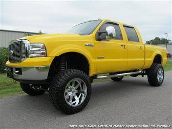 2006 Ford F-250 Powerstroke Diesel Lifted Amarillo Lariat 4X4 Crew Truck