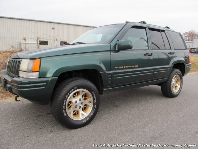 1996 jeep grand cherokee limited (sold)