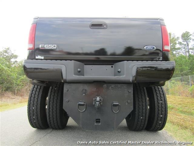 2008 Ford F650 Diesel Lariat SuperCrewzer Pro Loader Dually - Photo 13 - Richmond, VA 23237