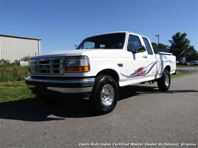 1995 Ford F-150 XLT Mark III Custom Conversion Classic OBS 4X4 Extended Cab Short Bed - Photo 1 - Richmond, VA 23237