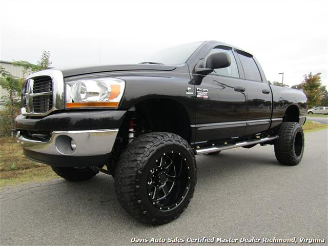 2007 dodge ram 2500 hd slt 5 9 cummins diesel lifted 4x4 crew cab sb. Black Bedroom Furniture Sets. Home Design Ideas