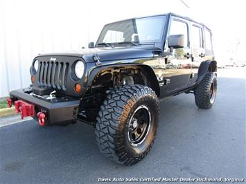2007 Jeep Wrangler Unlimited X Sport Lifted 4X4 6 Speed Manual SUV