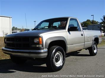 1998 Chevrolet Cheyenne 2500 4X4 Regular Cab Long Bed Truck
