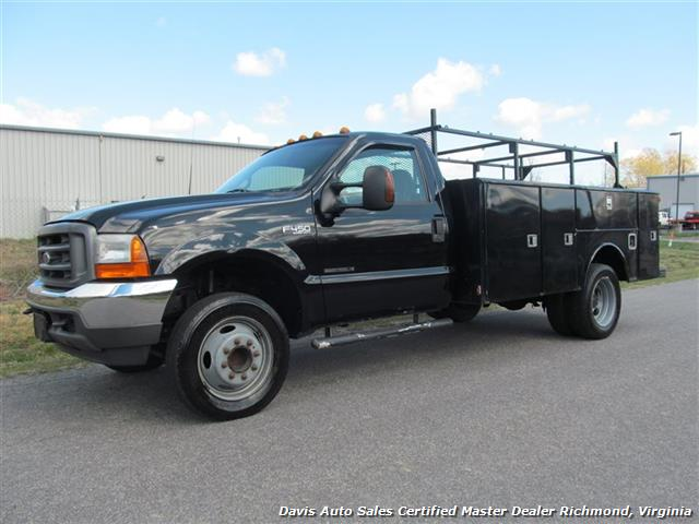 2001 Ford F 450 Super Duty Xl 7 3 Regular Cab Utility Bed