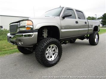 2006 GMC Sierra 2500 SLE HD Crew Cab Short Bed Loaded and Lifted Truck