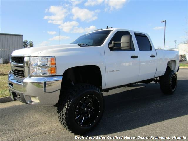 2008 Chevrolet Silverado 2500 Hd Lt 4x4 Lifted Duramax