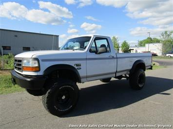 1996 Ford F-150 XL OBS Classic Lifted 4X4 Low Mileage Regular Cab Truck