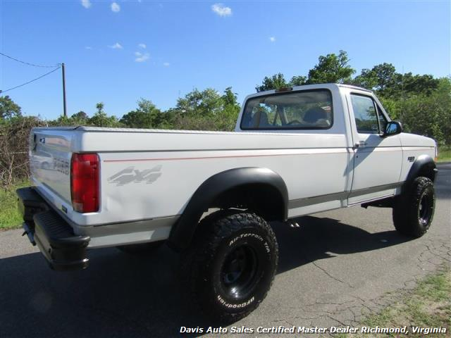 1996 Ford F 150 Xl Obs Classic Lifted 4x4 Low Mileage Regular Cab