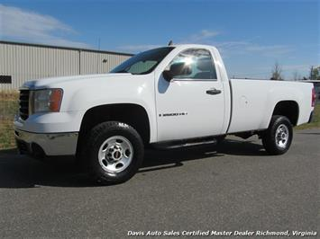 2007 GMC Sierra 2500 HD Regular Cab Long Bed Work Truck