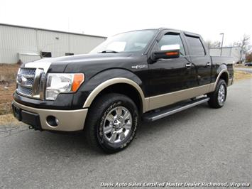 2012 Ford F-150 Lariat 4X4 SuperCrew Crew Cab Short Bed Low Miles Truck