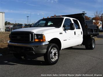 2000 Ford F-450 Super Duty XL 7.3 Diesel Crew Cab Dump Bed DRW Truck