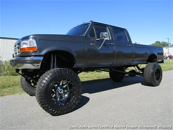 1997 Ford F-350 Superduty XLT 7.3 Diesel OBS 4X4 Crew Cab Lifted Truck
