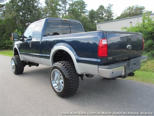 2008 ford f-250 powerstroke diesel lifted super duty lariat 4x4