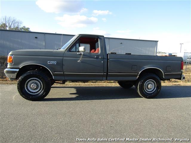 1989 ford f 250 xlt lariat 4x4 regular cab long bed low 2007 F250 Super Duty Regular Cab Used Ford F-250 Regular Cab
