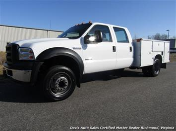 2006 Ford F-450 Super Duty XL Diesel DRW Commercial Utility Work Knapheide Body Truck