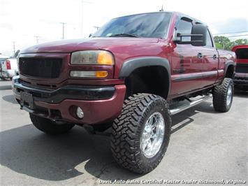 2003 GMC Sierra 2500 HD SLT 4X4 Crew Cab Short Bed Truck