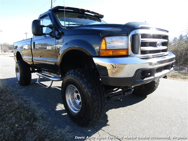 1999 ford f 250 super duty xlt lifted 4x4 regular cab long bed low mileage. Black Bedroom Furniture Sets. Home Design Ideas