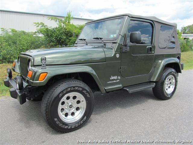 2006 Jeep Wrangler X 4X4 Off Road Soft Top 2dr SUV   Photo 1   Richmond