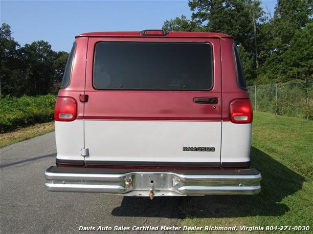 88308f91b6 ... 1998 Dodge Ram 3500 Maxi Wagon 15 Passenger (SOLD) - Photo 4 - Richmond  ...
