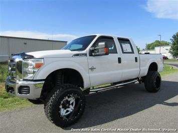 2012 Ford F-250 Powerstroke Diesel Lifted XLT 4X4 Crew Cab Truck