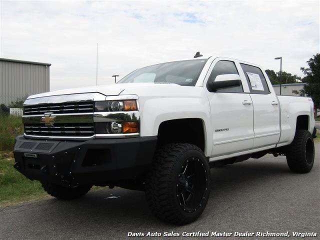 2015 chevrolet silverado 2500 hd lt 6 6 duramax diesel lifted crew cab short bed. Black Bedroom Furniture Sets. Home Design Ideas