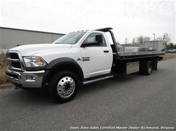 2014 Dodge Ram 5500 Cummins Turbo Diesel Wheel Lift Rollback Wrecker Truck