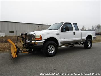 2001 Ford F-250 Super Duty XLT 7.3 Diesel 4X4 SuperCab Snow Plow Truck