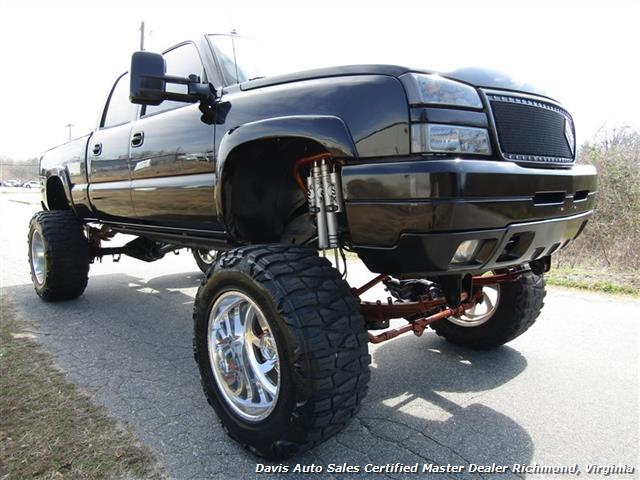 2003 Chevrolet Silverado 2500 LT Duramax Diesel Lifted 4X4 Crew Cab Short Bed - Photo 8 - Richmond, VA 23237