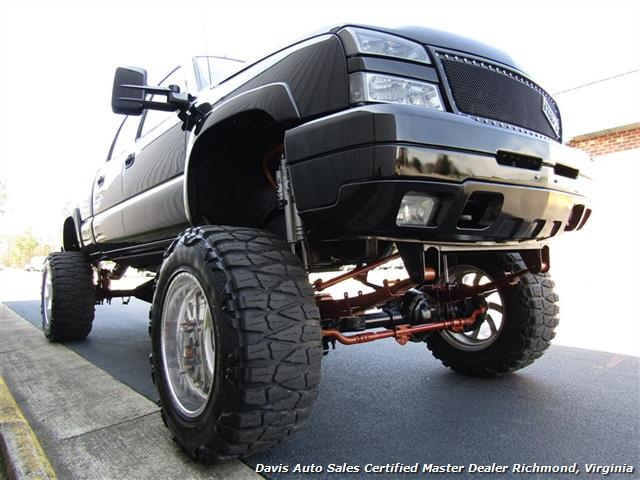 2003 Chevrolet Silverado 2500 LT Duramax Diesel Lifted 4X4 Crew Cab Short Bed - Photo 38 - Richmond, VA 23237