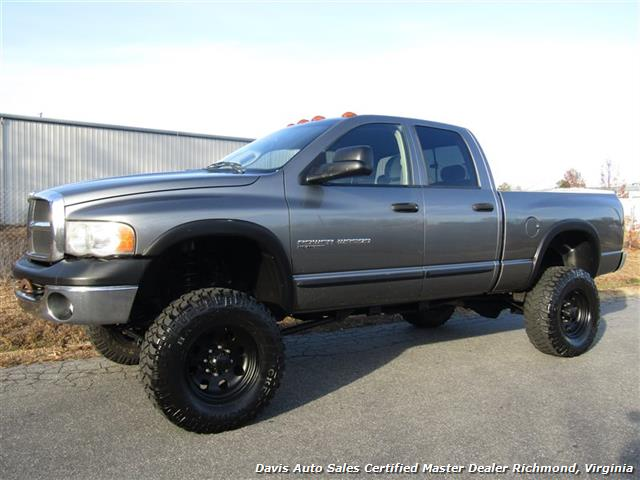 2005 dodge ram 2500 power wagon lifted 4x4 quad cab short bed. Black Bedroom Furniture Sets. Home Design Ideas