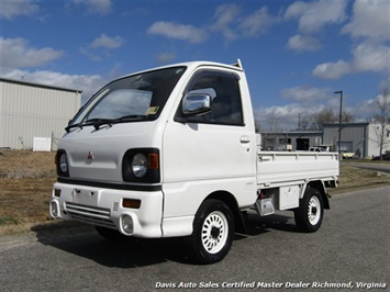 1991 Mitsubishi Mini Cab 12 Valve TD Right Side Drive Manual Shift Truck
