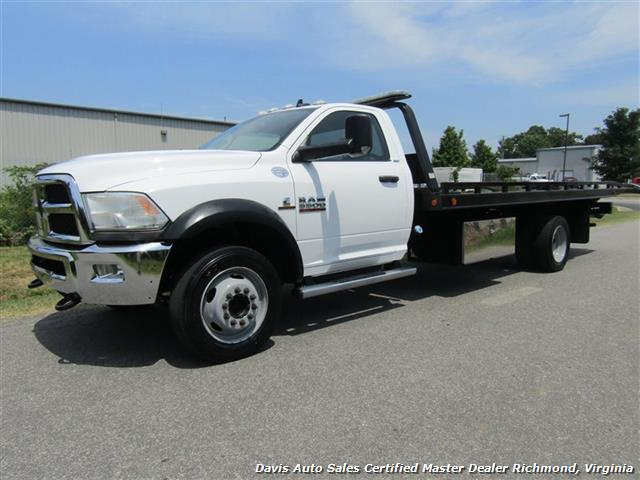 2013 Dodge Ram 5500 HD SLT Cummins Diesel Flat Bed Rollback Wrecker - Photo 1 - Richmond, VA 23237