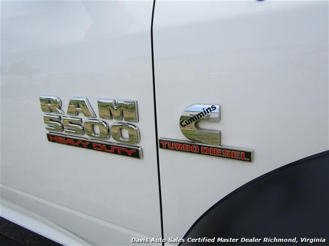 2013 Dodge Ram 5500 HD SLT Cummins Diesel Flat Bed Rollback Wrecker - Photo 24 - Richmond, VA 23237