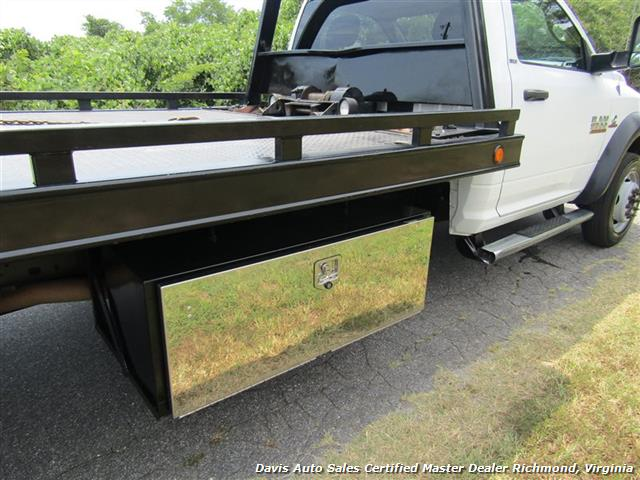 2013 Dodge Ram 5500 HD SLT Cummins Diesel Flat Bed Rollback Wrecker - Photo 15 - Richmond, VA 23237