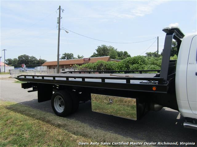 2013 Dodge Ram 5500 HD SLT Cummins Diesel Flat Bed Rollback Wrecker - Photo 17 - Richmond, VA 23237