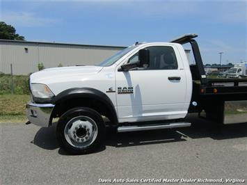 2013 Dodge Ram 5500 HD SLT Cummins Diesel Flat Bed Rollback Wrecker - Photo 2 - Richmond, VA 23237