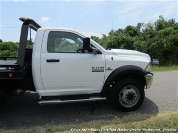 2013 Dodge Ram 5500 HD SLT Cummins Diesel Flat Bed Rollback Wrecker - Photo 16 - Richmond, VA 23237